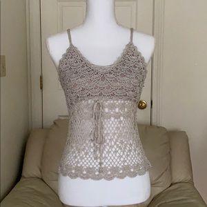 Handmade designer crochet top